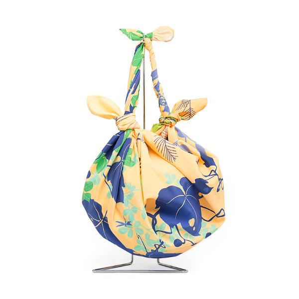 風呂敷 96cm 超撥水風呂敷 ながれ 季の葉 平織タイプ 96×96cm乱 日本製 水を弾く 撥水加工ふろしき 大判 大判風呂敷 防災 ギフト プレゼント