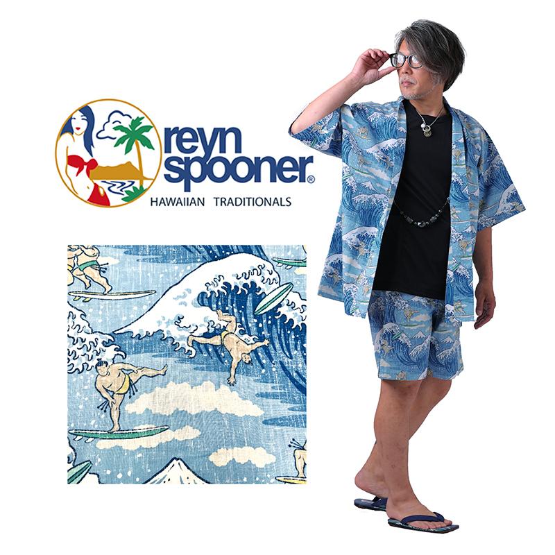 甚平 じんべい reyn spooner SURFIN'SUMO M,Lサイズ