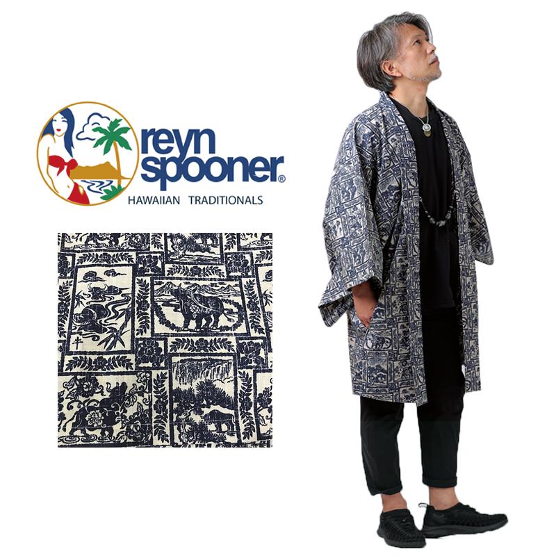 羽織 はおり reyn spooner YEAR OF THE OX フリーサイズ