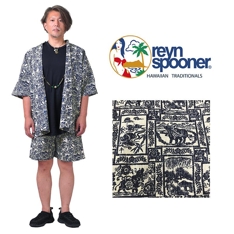 甚平 じんべい reyn spooner YEAR OF THE OX M,Lサイズ