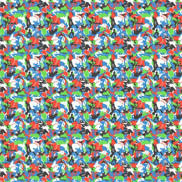 風呂敷 125cm 超撥水風呂敷 ながれ AKAYA'S ANIMALS タフタタイプ 125×125cm乱 日本製 水を弾く 撥水加工ふろしき 大判 大判風呂敷 防災 ギフト プレゼント