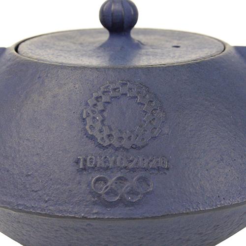 南部鉄器【岩手県】  急須 東京2020オリンピックエンブレム