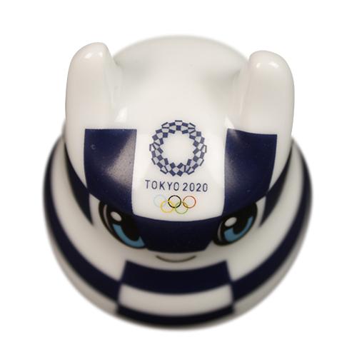 伊万里・有田焼【佐賀県】 おきあがりこぼし 東京2020オリンピックマスコット ミライトワ