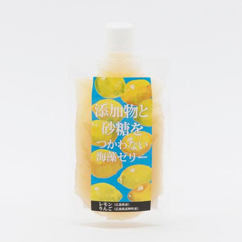 広島柑橘の添加物と砂糖を使わない海藻ゼリー(レモン・甘夏・紅八朔)