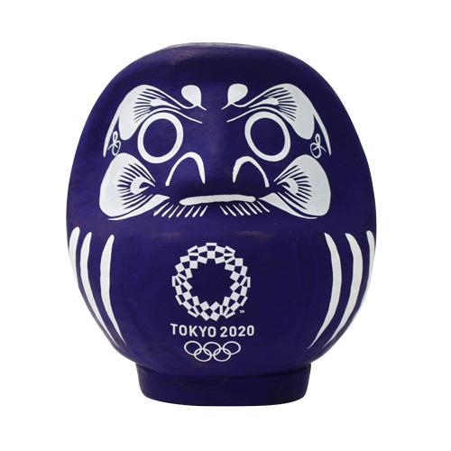 高崎だるま【群馬県】 だるま(藍) 東京2020オリンピックエンブレム