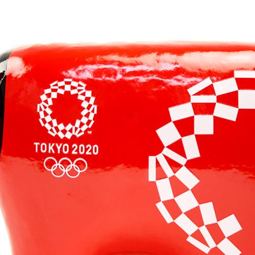 赤ベコ【福島県】 赤ベコ(5号) 東京2020オリンピックエンブレム クロッピング