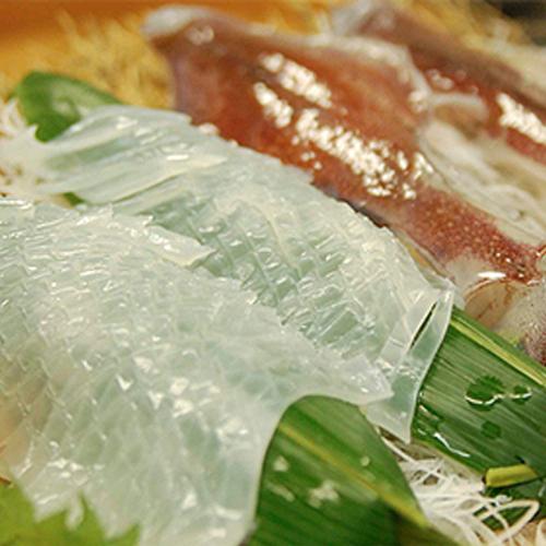 まるでイカのトロ。甘くてねっとり!日本海の天然白いか 3匹