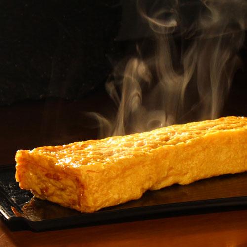 焼きたて玉子焼き、名古屋コーチン【極】と寿司屋の玉子【真】2本セット