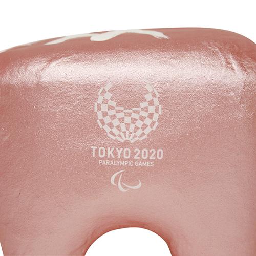 赤ベコ【福島県】 パールレッド 東京2020パラリンピックエンブレム