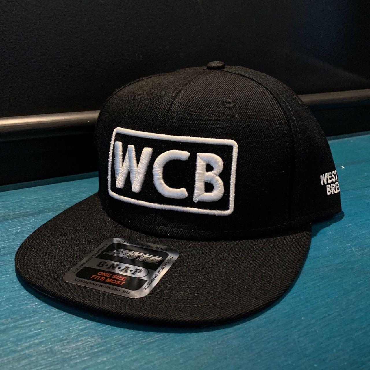 WCB White Logo Otto Snapback Cap