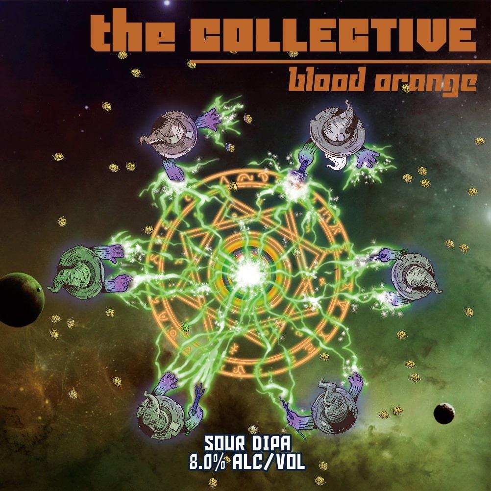 『 The Collective:Blood Orange 』 / Sour DIPA w/Raw And Malted Wheat, Milk Sugar, Blood Orange, Ao-Mikan, Cardamon And Juniper / 500 mL x 4本