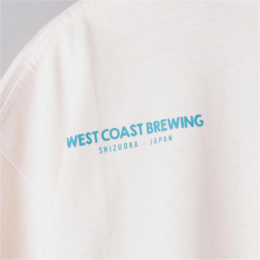 『 WCB ×UNITED ARROWS / HOP DUDE TEE (White) 』