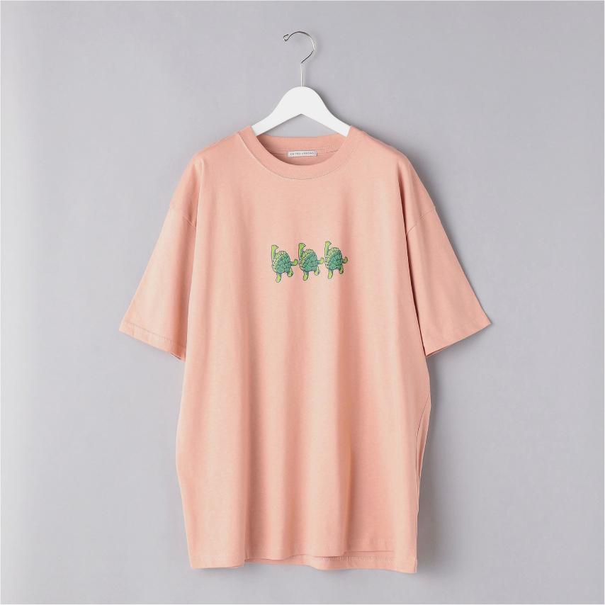『 WCB ×UNITED ARROWS / HOP DUDE TEE (Pink) 』