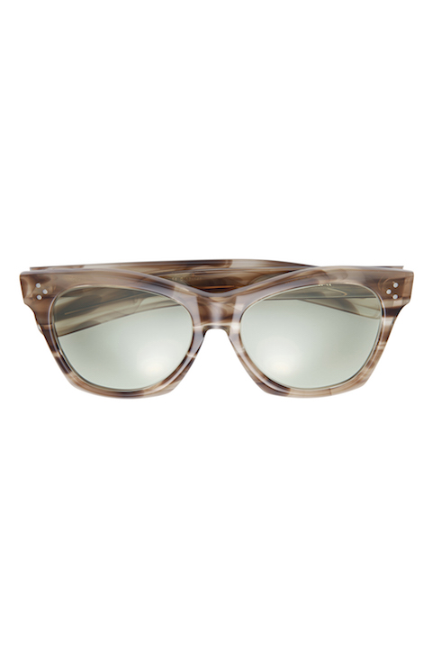 "Eyewear ""Big Eye"" -Light Brown / Smoke-"