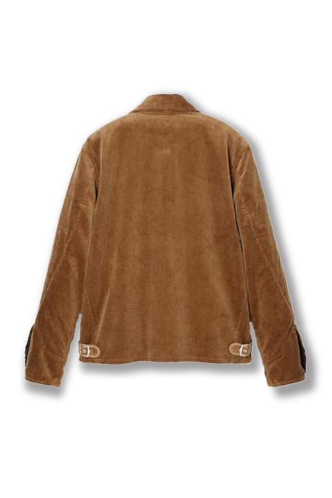 Cords Sports Jacket -Camel-