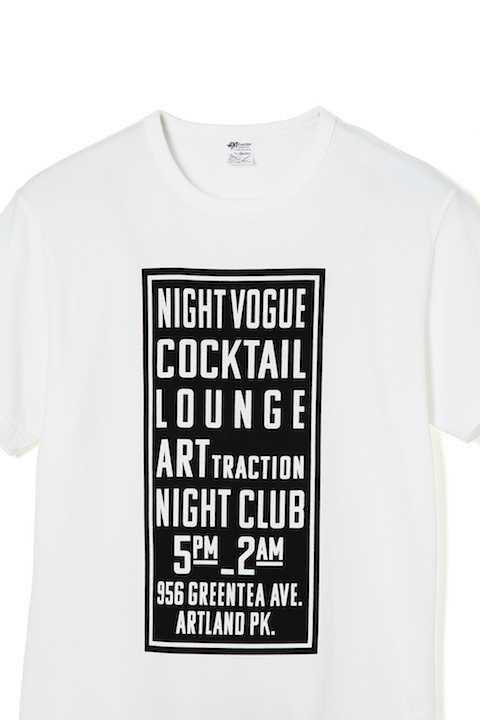THE SIGN   S/S Tee -White-