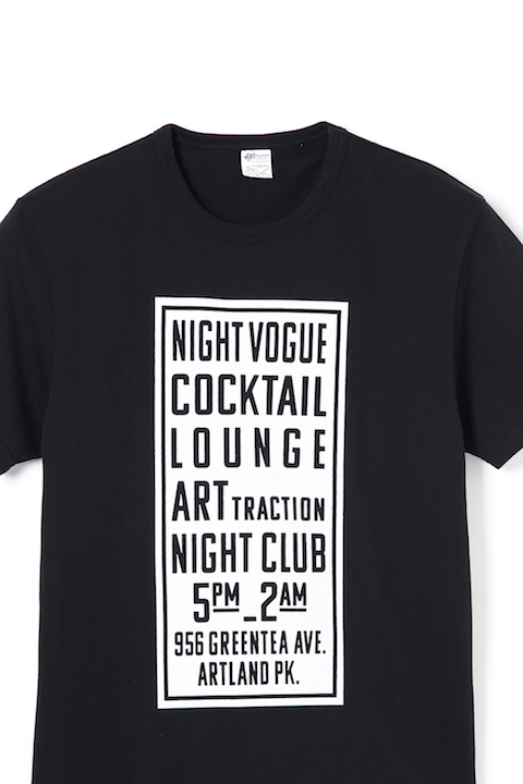THE SIGN  S/S Tee -Black-
