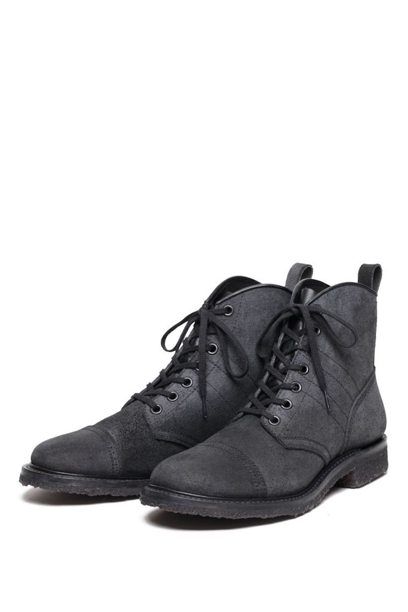 Lot.543 Rough-Out Jump Boots Black