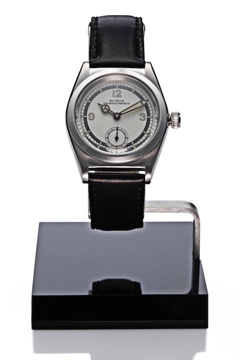 "Wristwatch ""Roundbuck"" SS Silver Dial"