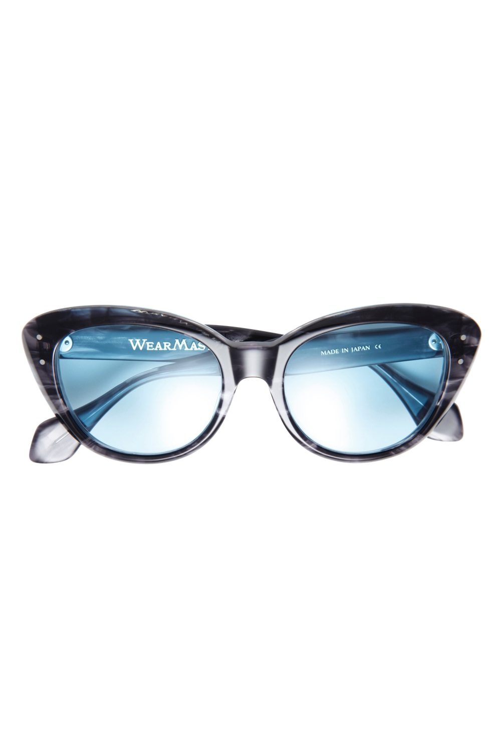 "Eyewear ""The Flamingo"" -Dark Gray / Smoke-"