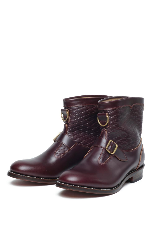 Lot.300 Roper Boots -Burgundy-