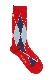 Argyle Sox -Red-