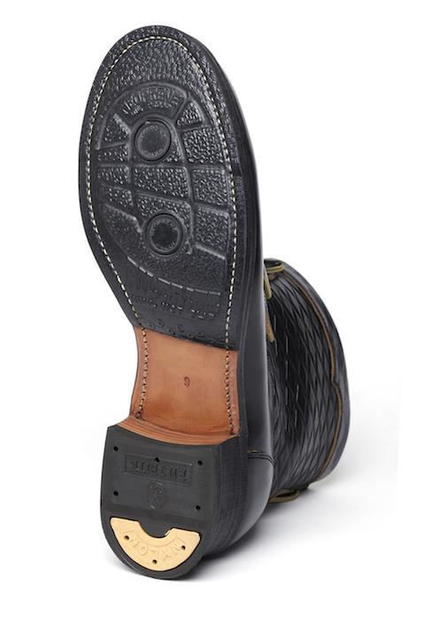 Lot.651 Horsebutt Roper Boots (Separate Sole) -Black-