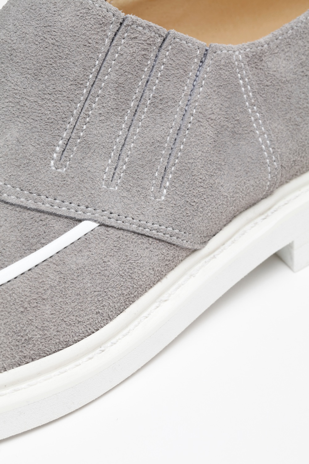 Lot.494 Slip-On Shoes -Gray-