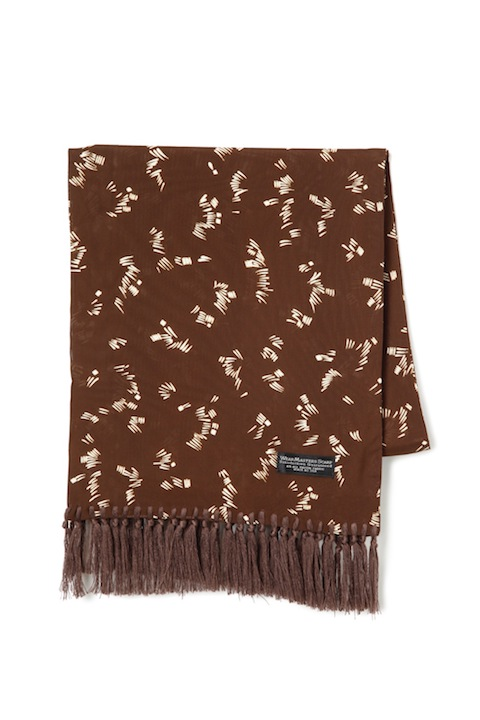 "WEARMASTERS SCARF ""Nep"" Brown"