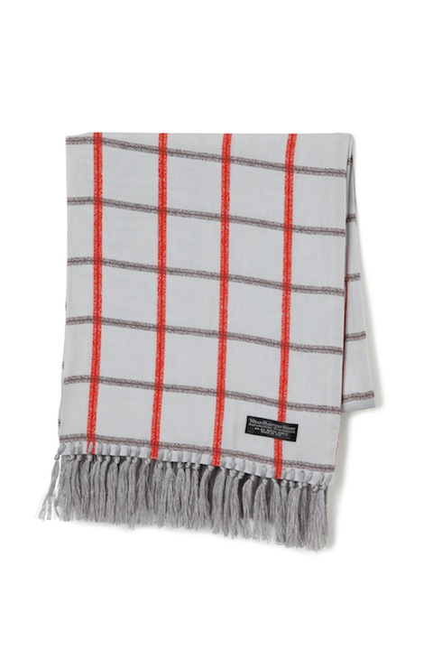 "WEARMASTERS SCARF ""Check"" Gray"