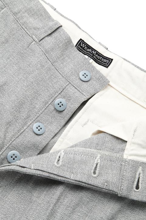 "Work Pants ""Heritage""  LC -Gray-"