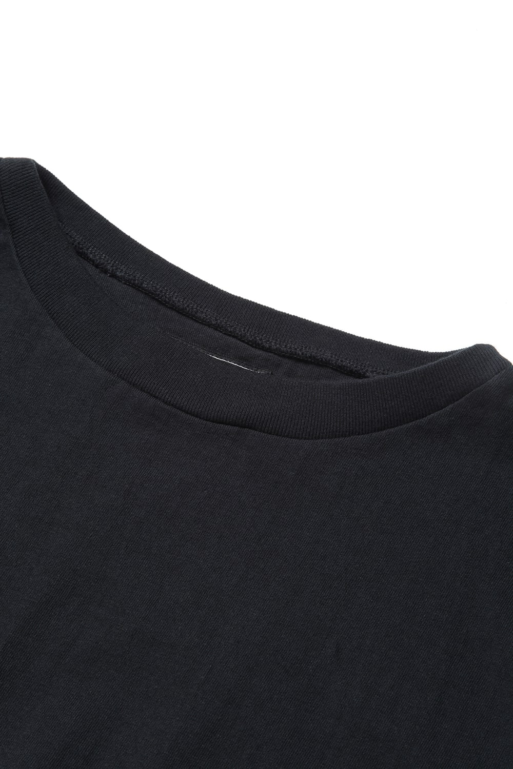 CK Boat Neck Tee -Black-