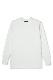 Crew Neck Thermal Shirt -White-
