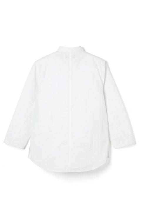 Jaxon Shirt / Typewriter -White-