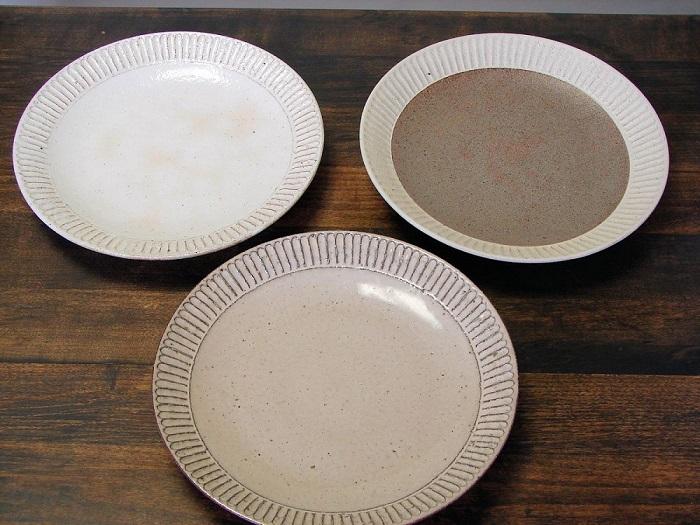 (藤山窯)8.0寸和皿3点セット�