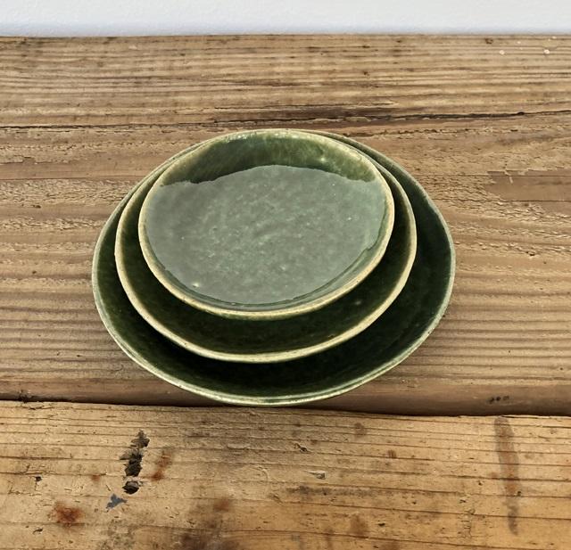 (クラフト石川)萬古焼 8.5cm手塩皿