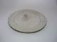 (乾太郎窯)きなり釉印花模様丸皿3個セット