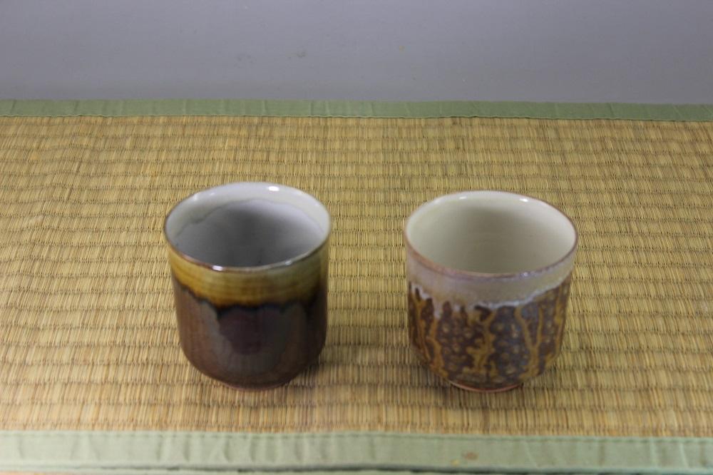 (高取焼 比古窯)湯呑