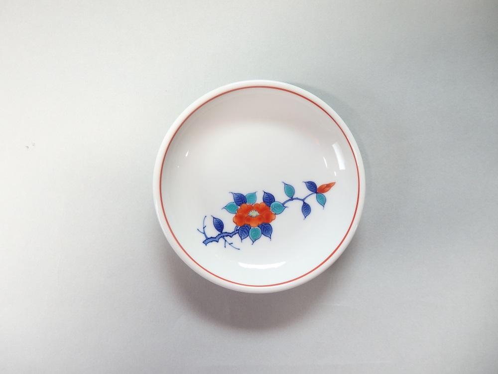 (市川冬山窯)食卓を彩るお皿5点セット(椿)