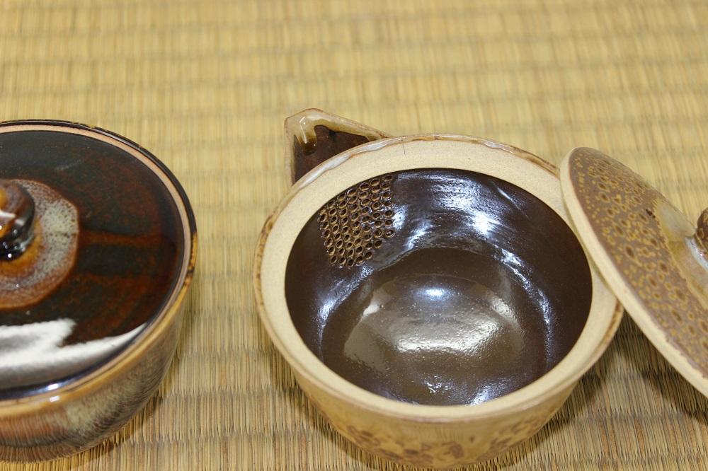 (高取焼 比古窯)宝瓶(小)