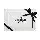 Bath Towel GIFT BOX(M size Black1枚,L size Black1枚セット)