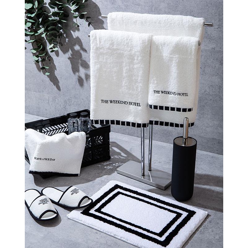 Bath Towel (M size White)