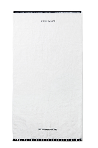 Bath Towel (L size White)