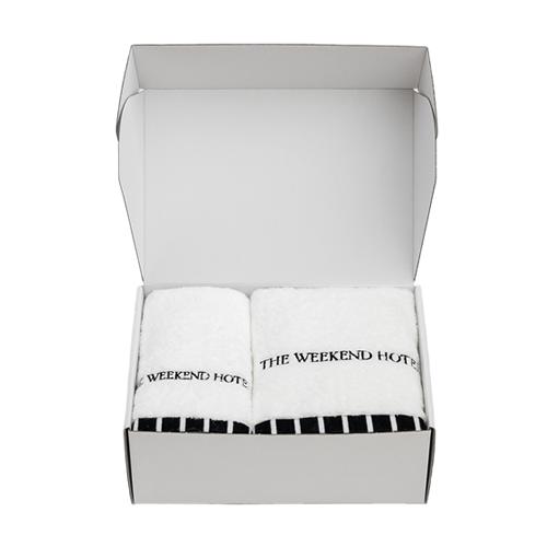 Bath Towel GIFT BOX(M size 1枚,L size1枚セット)