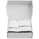 御出産御祝用 Bath Towel GIFT BOX(Msize White 1枚,Lsize White 1枚セット)