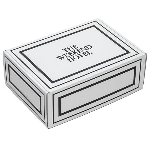 御中元用 Bath Towel GIFT BOX(Msize White 1枚,Lsize White 1枚セット)