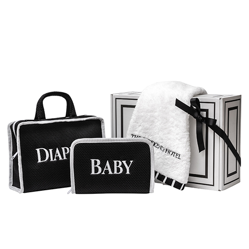 御出産御祝用 GIFT BOX(BABY・DIAPERS・BathTowelMsize1枚セット)