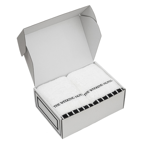 御結婚御祝用 Bath Towel GIFT BOX(Msize2枚セット)