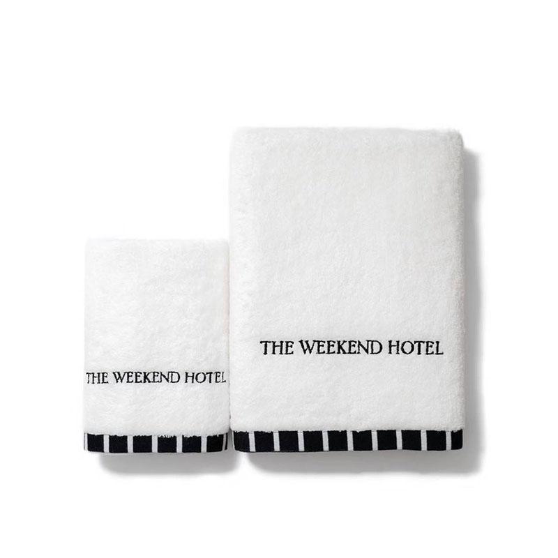 Towel&Slippers GIFT BOX(Hand Towel (XSsize)・Bath Towel (Msize)・Bath Towel (Lsize)・Open Toe Slippers)