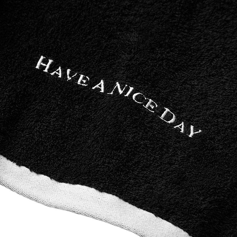 Bath Towel (L size Black)
